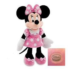 New Minnie Mouse Toys 50cm Minnie Pelucia Pink Plush Stuffed Animals Mickey Mouse Girlfriend Kids Toys for Children Gifts