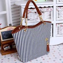 Summer Women Canvas Beach Bag Female Handbags Shoulder Bags