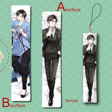 Mystic Messenger Han Jumin Cool Male Anime Mini Dakimakura Keychain Pillow Hanging Ornament Phone Strap Gift