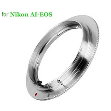 Lens Adapter Ring for Nikon F (Non-AI, Ai, AIS) Lens to FOR Canon EOS EF AI-EOS 550d 60d 5d3 700d 7d 50d 5d2 6d  T20