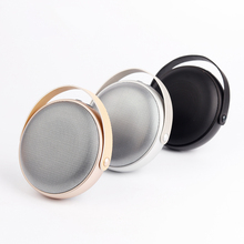 Original Mini Portable Bluetooth 4.0 Speaker With Mic 3.5mm Aux Function TF Card Support Metal iPhone music play Three color(China)