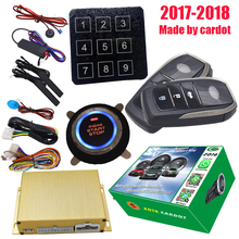 transponder chip car alarm system with passive keyless entry and start engine auto window rolling up output after lock action