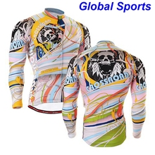 2017 Brand Professional Racing protection Jacket Motocross riding jacket black Men spring motorcycle jacket with cool skulls