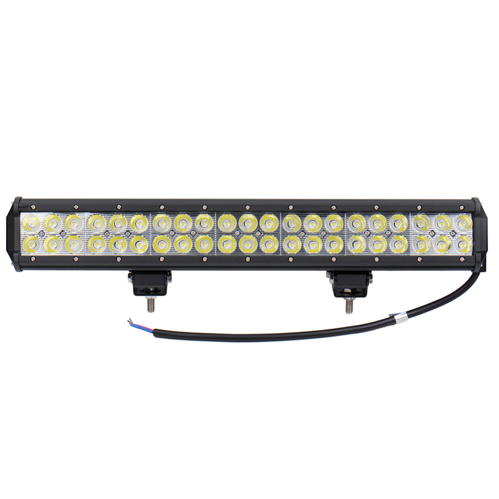 126W 42x 3W 12600 LM 12-24V Car LED Light Bar as LED Work light Flood Light Spot Light led car for Boating Hunting Fishing<br>