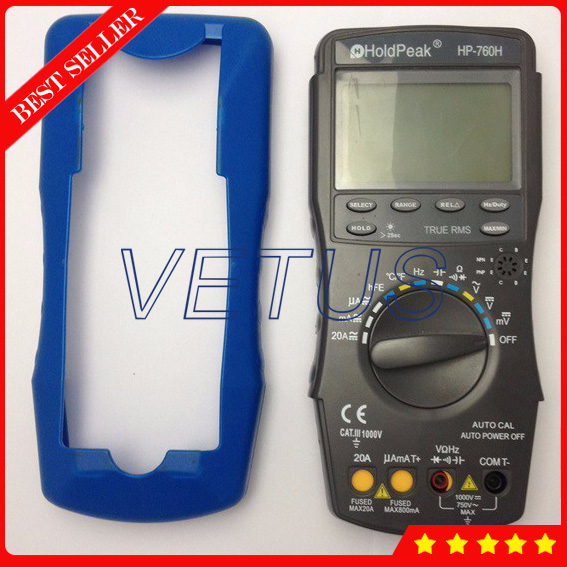 HP-760G Digital Multimeter Specifications for Resistance Capacitance Frequency Temperature Duty Cycle Test<br><br>Aliexpress