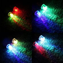 2x Neon LED Car Bicycle Motocycle Wheel Tyre Tire Valve Stem Cap Lights Lamp Bule/Colorful Car Value Cover