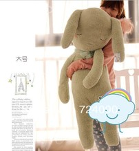 1m Sleep Inn sleepwalking doll rabbit rabbit plush toy doll  Queen Pillow Children's Day gift