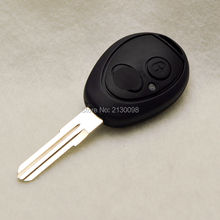 Free Shipping Transponder Key Shell For Land Rover Discovery 2 TD4 TD5 75 Uncut Blade Key Case Shell With Logo