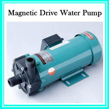 Electric Low Pressure Magnetic Circulating Pump Acid Resistance Magnetic Drive Water Transfer Pump With 2 Connection