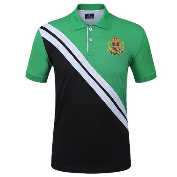 Fannai Mens Golf Shirt Short-sleeve Golf POLO Tshirt Fitness Running Jogging outdoor sportswear Golf Trainning T Shirts 3Colors06