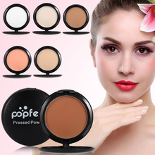 Popfeel Profession Pressed Powder Matte Face Makeup Palette Highlighter Bronzer Blush Sleek Corrector Powder Contour Cosmetics(China)