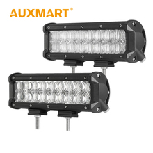 "Auxmart 90W 10"" CREE Chips 5D LED Light Bar Flood / Spot Beam Led Light Fit Truck Boat Barra ATV 4x4 Wagon Tractor Driving Lamp"