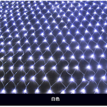 2M*3M 200 pcs LED String Fairy Net Light Mesh Curtain Ceiling Garden Plant Christmas Wedding Decoration LED Lamp 220v EU Plug