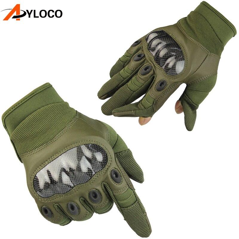 Men/'s Army Gloves Man Full finger gloves Military police Safety Gloves  Anti-Sli