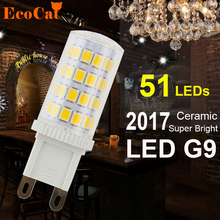Low price G9 LED 7W G9 LED Corn Light  2835 Super bright Replace 50W Halogen Lamp Led bulb spotlight Crystal lamp for Chandelier