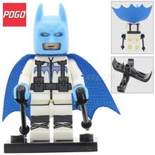 POGO Batman with Ski Suit Figure Single Sale PG179 DC Super Heroes Batman Building Blocks Model Bricks Kids Toys for Children