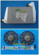 Fit for Ford falcon BA BF XR6 turbo Aluminum intercooler&FAN(China)