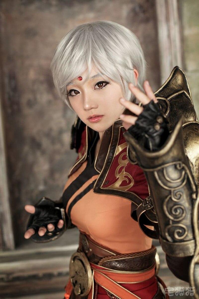 韩国《暗黑破坏神3》极富霸气cosplay写真