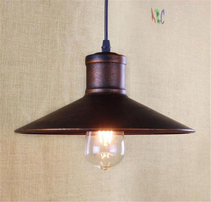 Industrial Pendant Lights Vintage  Edison Hanging Lamp E27 110 220V Pendant Lamps Rustic Home Decor Restaurant Luminarias<br>