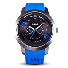 SBAO Brand Factory Direct Sale Quartz Men Silicone Watch Military Wirstwatch Male Casual Sports Children Watch Life Waterproof