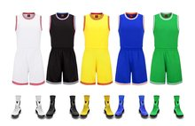 Sports suit Men' Basketball Suit adult Training Jerseys Uniforms Sets Breathable comfortable soft Basketball Running sleeveless