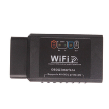 Wifi ELM327 Code Reader OBDII Scan Adapter for Andriod iOS PC platforms OBD2 Diagnosis Tool ELM 327 V1.5 WI-FI Wireless(China)