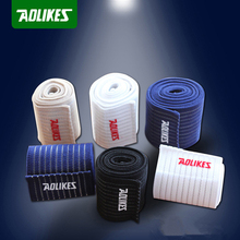 Aolikes 1 Pair Ankle Support Bandage MMA Running Sprained Ankle Wrap Football Basketball Ankle Protection Leg Strap HBK081