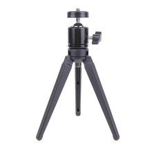 Prefessional Portable Aluminum Alloy Table Top Tripod Load Digital Camera Mount Monopod Lightweight High Quality Black