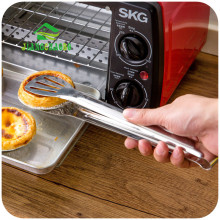JiangChaoBo Stainless Steel Food Food Clip Baking Clip Kitchen Steak Bread Bread Grill Barbecue Grill