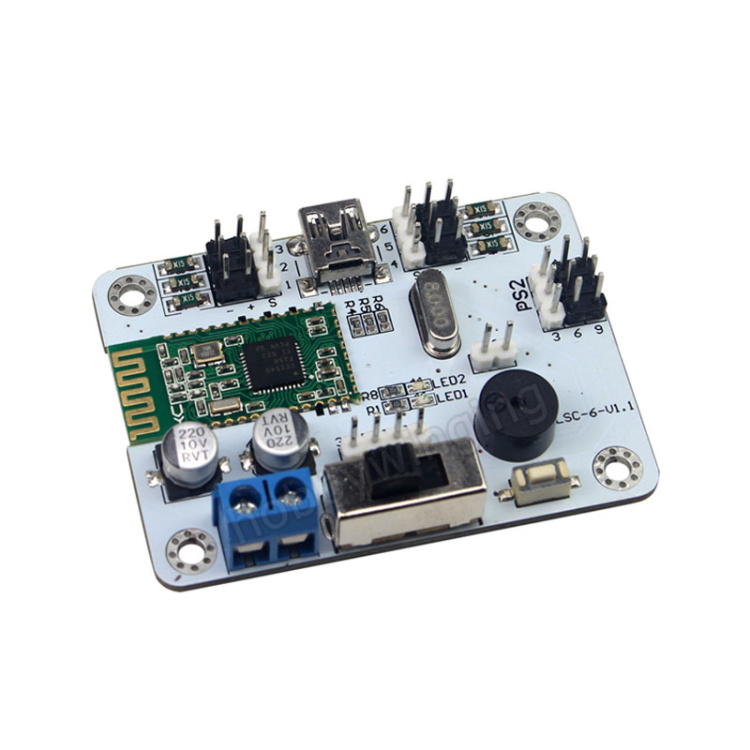 6CH Servo Controller steering gear Driver Board w/ Bluetooth 4.0 for RC  manipulator Mechanical Arm robot Support PS2 Controller<br>
