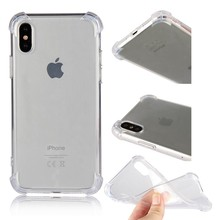 Buy Clear Protector Cases Apple iPhone X iPhoneX Cover Case Back Shell Capa Carcasa Hoesje Etui Capinha Coque Phone Accessory for $2.52 in AliExpress store