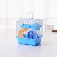 Products Free shipping Hot sell Recommended Goods Large Luxury Cages For  Hamster Cage Accessories Plastic Guinea pigs House