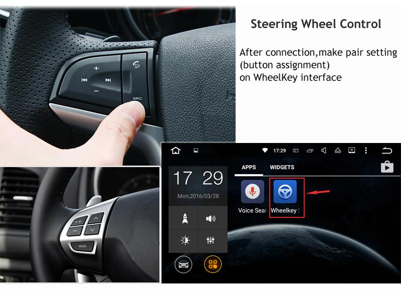 ANDROID 7.11 7.12 CAR DVD 1DIN CAR RADIO GPS toyota corolla e120 e140 e150 e130 (3)