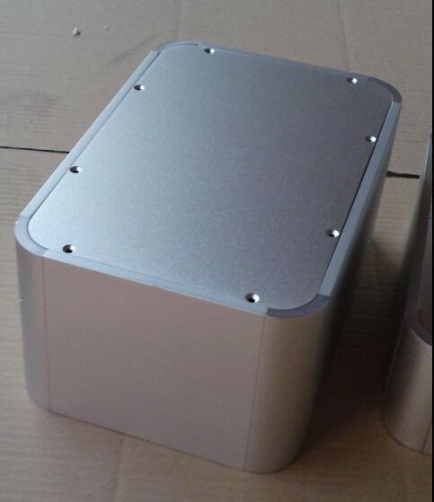 full aluminum round big volum hifi audio DIY case enclosure amplidier chassis<br><br>Aliexpress