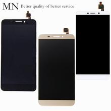 1PCS/Retail AAA+++ MN Replacement Black White Gold Letv X600 LCD Display + Touch Screen Digitizer Assembly Tracking No. - Good service Store store