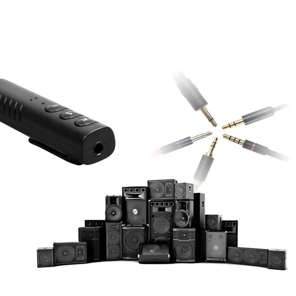 Bluetooth Receiver 3.5mm Jack Wireless AUX Audio Stereo Music Adapter Handsfree Earphone for Speaker Headset LJ-MILLKEY RBD002-2