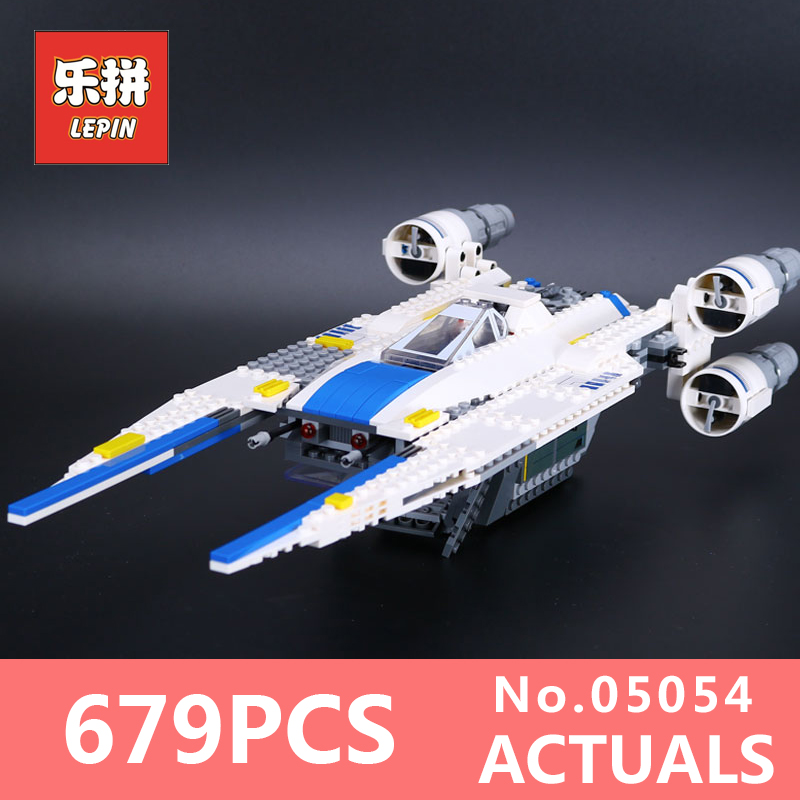 Star 679Pcs Wars Lepin 05054 The Story Fighter Set Building Blocks The Rebel U-Wing Bricks Toys for Children LegoINGlys 75155<br>