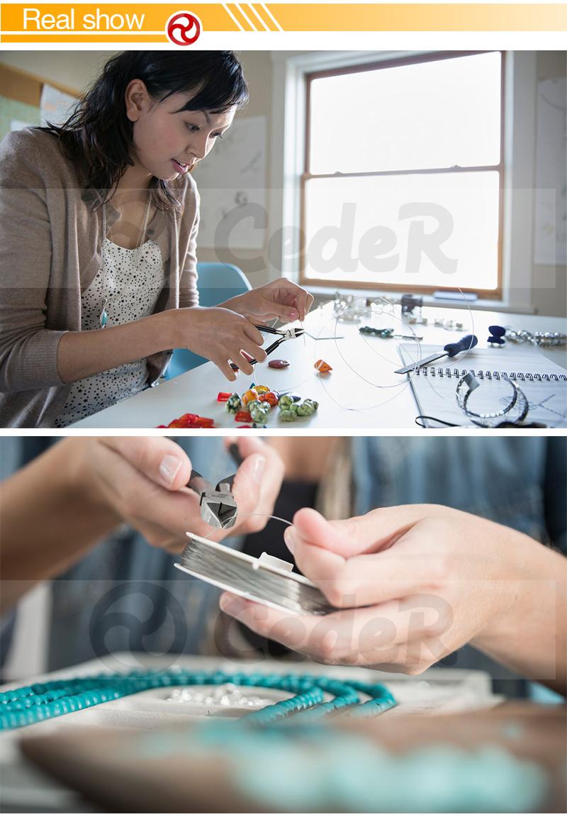 JAKEMY Mini Diagonal Side Pliers Wire Stripper Cutting Shears Nipper Carbon Steel Side Circlips Jewelry Cutter Pliers JM-CT1-10