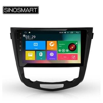 SINOSMART Quad Core RAM 2 GB 32G ROM Android 5.1 Voiture Navigation GPS Lecteur pour Nissan x-trail 2013-2016 Soutien 4G