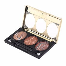 Special Women Lady Design Eye Shadow Personal Facial Makeup Long Lasting Cosmetic Makeup Eyeshadow 6 Types Optional