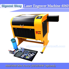 Free Shipping  Laser Engraver Machine 4060/6040 80W Power CE   Up and Down Lifting System Red Positioning Laser Cutting Machine