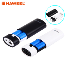 Buy DIY 2x18650 Battery Portable 5600mAh Power Bank Box Shell USB Output & Indicator iPhone Samsung without Battery 5V for $2.86 in AliExpress store
