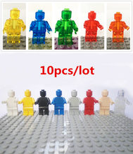 Dubbi 10pcs/lot diy building blocks minifigures accessories blocks compatible with Legoe for gift (China)
