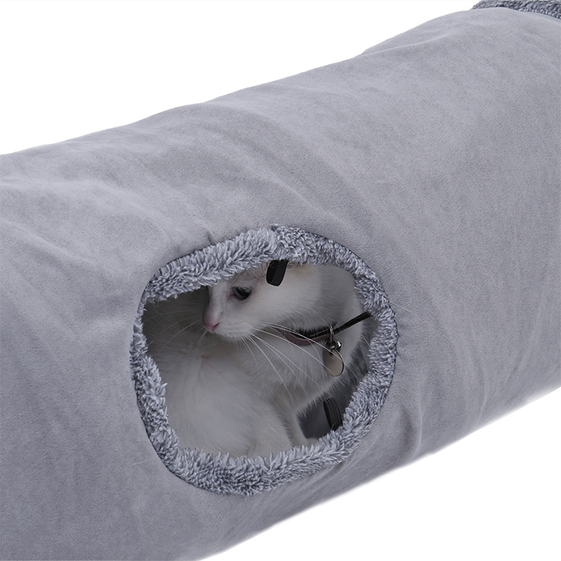 big cat tunnel Big Long Cat Tunnel with Play Ball Suede Material-Free Shipping HTB1IPzblLBNTKJjy0Fdq6APpVXaV
