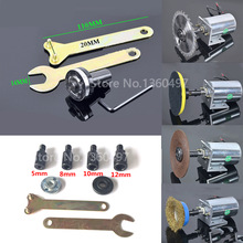 1pcs Cutting Machine 5/8/10/12mm Spindle Adapter M10 For Grinding Polishing Shaft Motor Bench Grinder Best Promotion