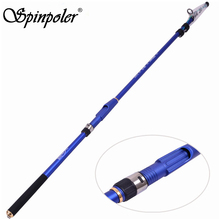 2017 Saltwater Jigging Rod 2.7m/3.0m/3.6m/4.5m Carbon Spinning Telescopic Fishing Rods Sea Boat Rod Blue & Black Fishing Jig Rod
