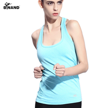 Women Tank Top Yoga Outdoor Sports Fitness Running Slim Body Medium -long Style Tanks Women Tops Vest Quick Dry Tank Yoga Shirt
