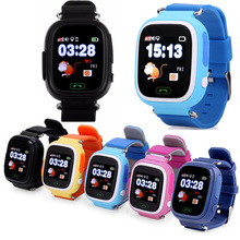 YourTribe Q90 Kids Smart Watch GPS Watch Touch Screen Child Google Map SOS Button Watch for Child LBS/GPS/WIFI Locator(China)