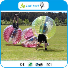 4pcs+1pump 1.2m TPU bubble soccer, Funny sport games cheap inflatable sumo bumper ball, giant bubble ball,(China)