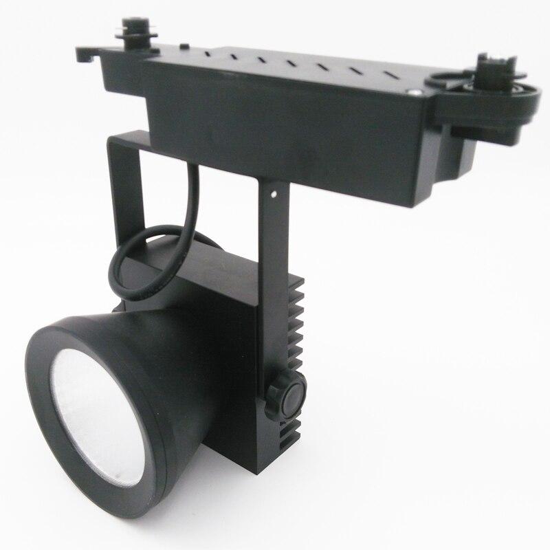 LED Track light COB 35W AC110-240V Track Lighting Retail Spot Wall Lamp Rail Spotlights Replace Halogen Lamps White/Warm white<br>